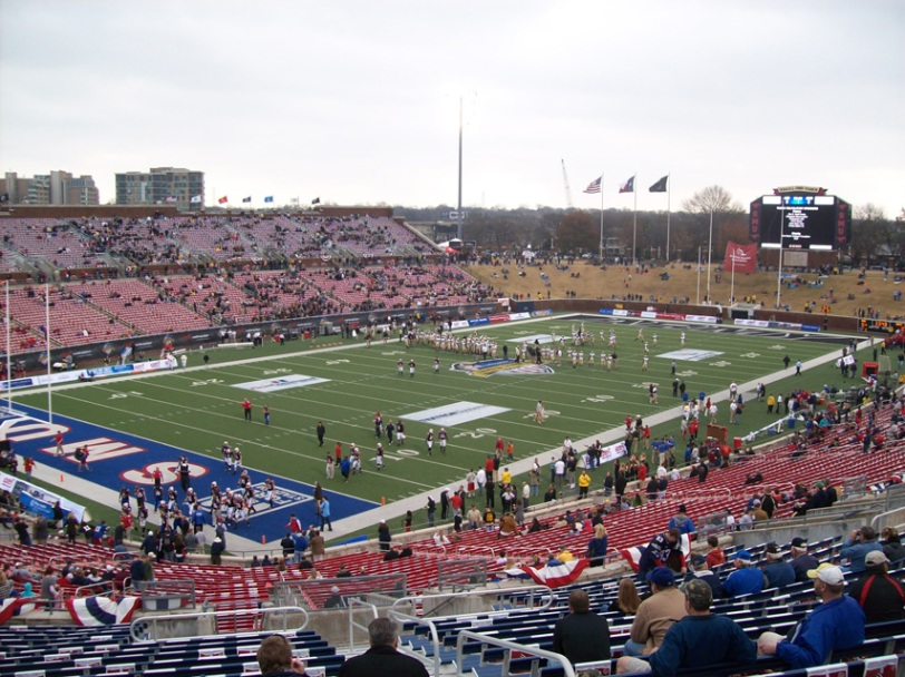 Ford Stadium in Dallas, home to SMU.
