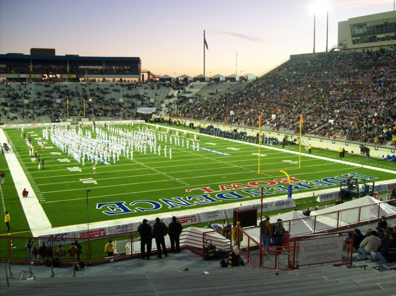 Independence Stadium, home of the Independence Bowl in Shreveport, La.