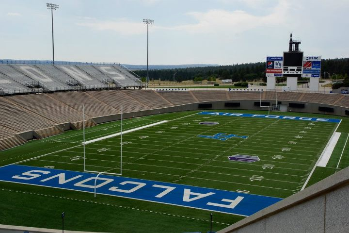 Postcard of the Day: Falcon Stadium's ready for football ...