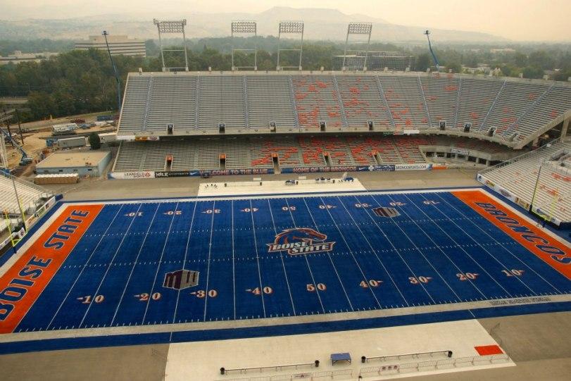 Bronco Stadium, Boise