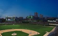 An artist rendering of the potential renovations at Wrigley Field. (Chicago Cubs/CSN Chicago)