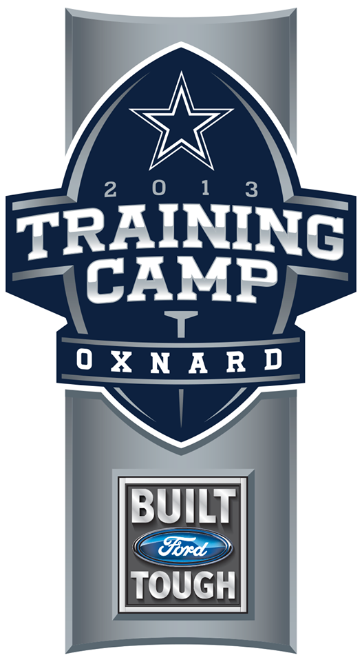 Dallas Cowboys Training Camp Logo