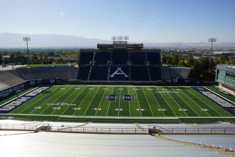 Stadium Gallery Romney Stadium Utah State University