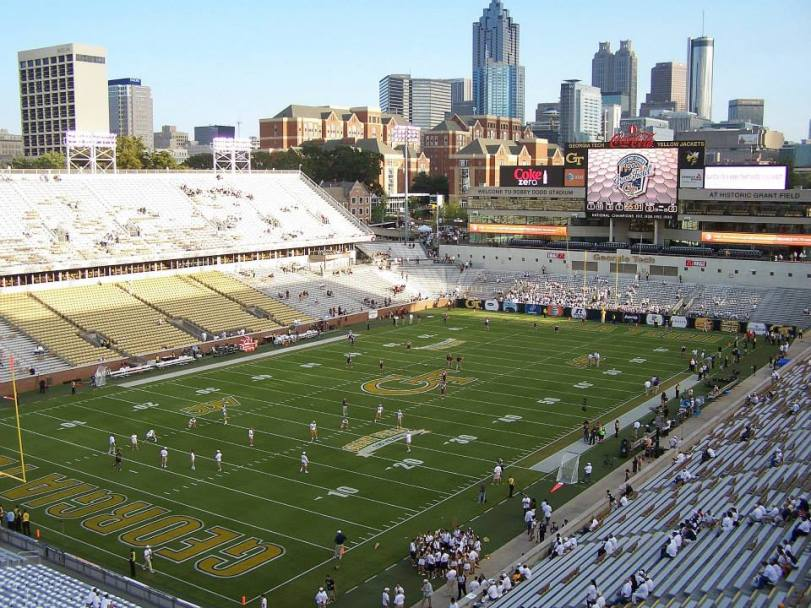 Bobby Dodd Stadium at Historic Grant Field