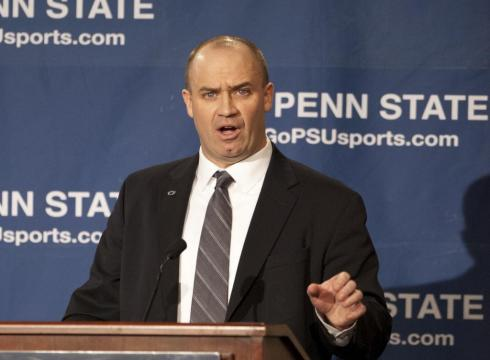 Former Penn State head coach Bill O'Brien.