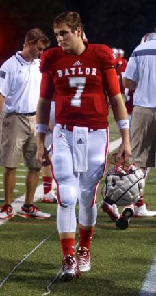 Baylor School (TN) quarterback NIck Tiano. (RoadTripSports photo by Kendall Webb)
