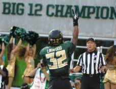 Baylor running back Shock Linwood scores a touchdown on Aug. 31, 2014, at McLane Stadium. (RoadTripSports photo by Chuck Cox)