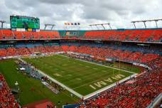 Sun Life Stadium, the home of the Miami Hurricanes. (RoadTripSports photo by Kendall Webb)