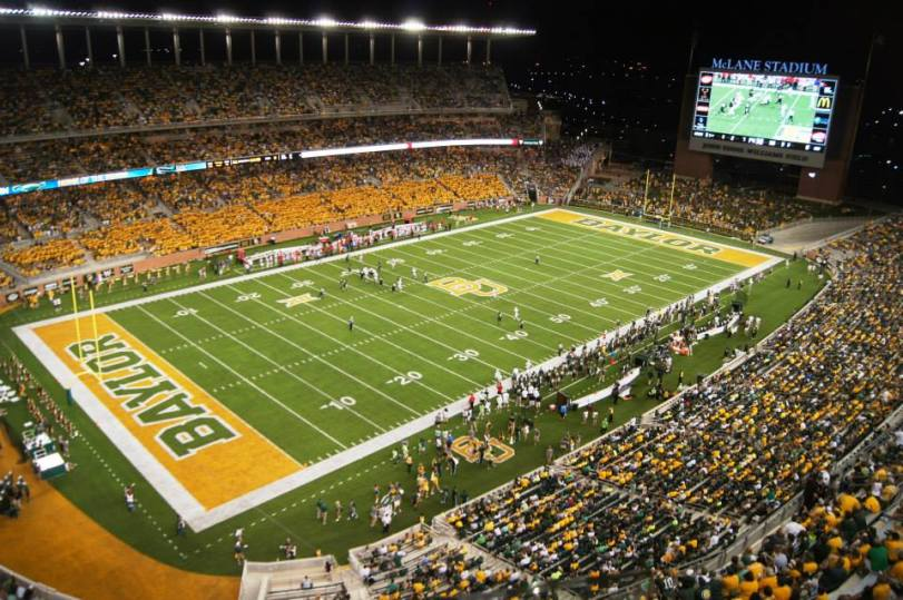 McLane Stadium, the new home of Baylor football. (RoadTripSports photo by Chuck Cox)