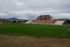 Nelson Stadium, the home of Carroll College Fighting Saints football in Helena, MT. (RoadTripSports photo by Kendall Webb)