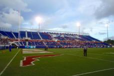 Howard Schnellenberger Field at FAU Stadium is the home of the Florida Atlantic Owls. (RoadTripSports photo by Kendall Webb)