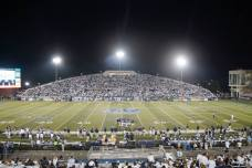 Foreman Field, the home of Old Dominion football. (RoadTripSports photo by Kendall Webb)