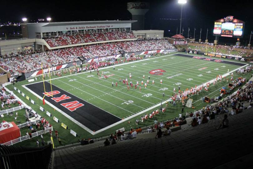 Houchens Industries–L.T. Smith Stadium in Bowling Green, KY. (RoadTripSports photo by Matthew Postins)