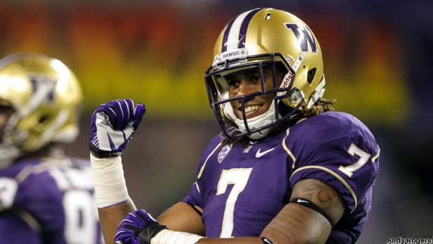 Washington linebacker Shaq Thompson.