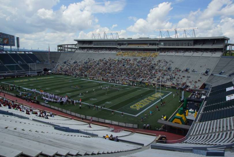 Legion Field, the home of UAB football. (RoadTripSports photo by Kendall Webb)