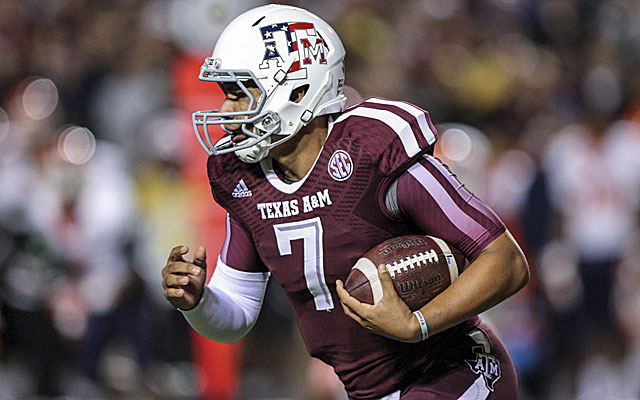 Texas A&M quarterback Kenny Hill.