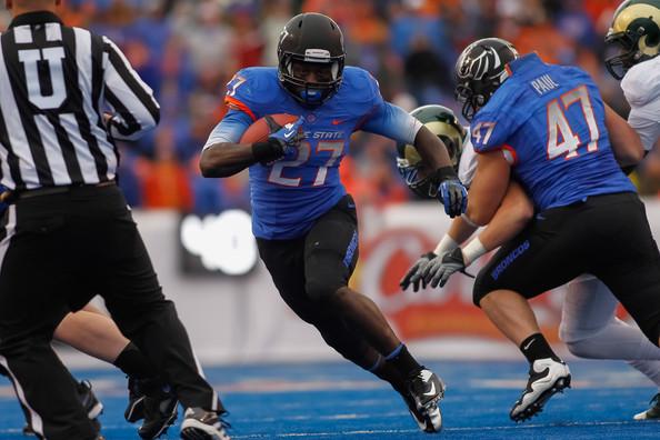 Boise State running back Jay Ajayi.