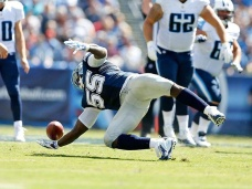 Dallas Cowboys linebacker Rolando McClain ropes in his incredible interception from Sunday's game against Tennessee.