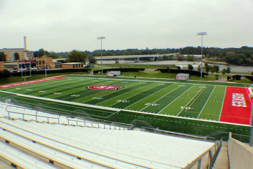 Husky Stadium, the home of the St. Cloud State Huskies. (RoadTripSports photo by Matthew Postins)
