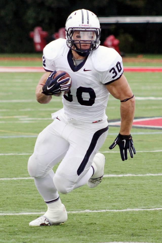 Yale star running back Tyler Varga. (RoadTripSports photo by Matthew Postins)