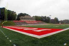 Clemens Stadium, the home of the St. John's University Johnnies. (RoadTripSports photo by Matthew Postins)