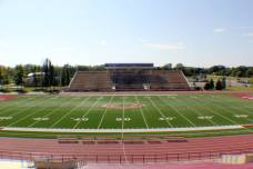 Jake Christiansen Stadium, the home of the Concordia-Moorhead Cobbers. (RoadTripSports photo by Matthew Postins)