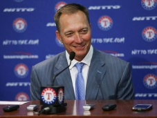 New Texas Rangers manager Jeff Banister.