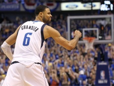 Tyson Chandler is back in a Mavs uniform this season. (CBS Sports)