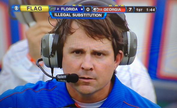 Will Muschamp of Florida.