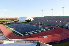 Rynearson Stadium, the home of Eastern Michigan University football. (RoadTripSports photo by Matthew Postins)