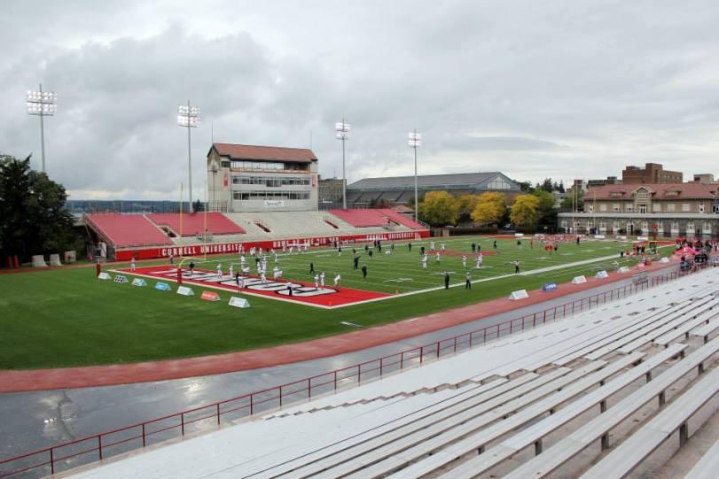 Schoellkopf Field, the home of Cornell football. (RoadTripSports photo by Matthew Postins)