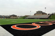 Angell Field, the home of Kalamazoo College football. (RoadTripSports photo by Matthew Postins)