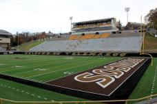 Waldo Stadium, the home of the Western Michigan Broncos. (RoadTripSports photo by Matthew Postins)