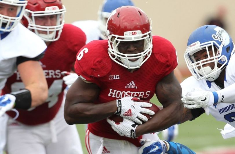 Indiana running back Tevin Coleman.