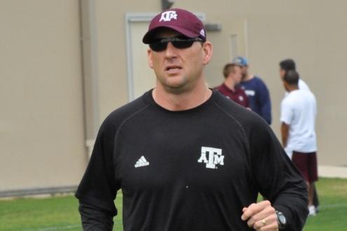 New Kansas coach David Beaty.