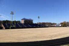 Shuford Stadium, the home of the Catawba Indians. (RoadTripSports photo by Matthew Postins)