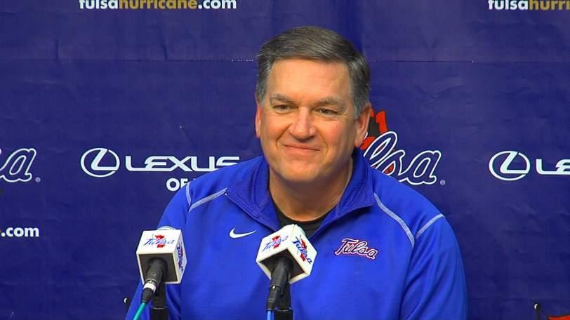 Former Tulsa head coach Bill Blankenship.