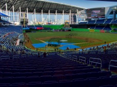 Marlins Park, the home of the Miami Beach Bowl.