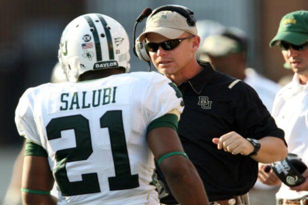 Future Tulsa head coach Philip Montgomery.