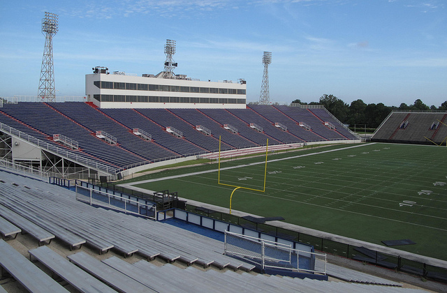 Ladd-Peebles Stadium, the home of the Mobile Bowl.