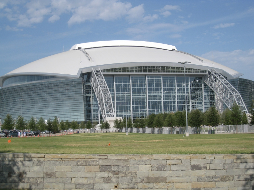 AT&T Stadium, home of the Dallas Cowboys.