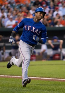 Rangers infielder Jurickson Profar. (photo by wikimedia)