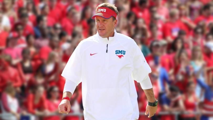 New SMU head coach Chad Morris.