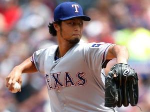 Texas Rangers pitcher Yu Darvish.