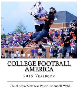 The College Football America 2015 Yearbook.