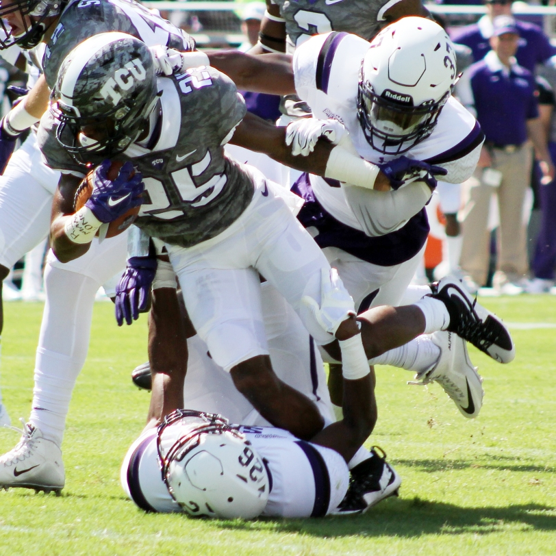 TCU's KaVontae Turpin. (RoadTripSports photo by Matthew Postins)