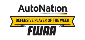autoNation Defensive Player of the Week
