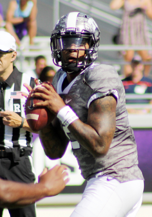 TCU quarterback Trevone Boykin. (RoadTripSports photo by Matthew Postins)