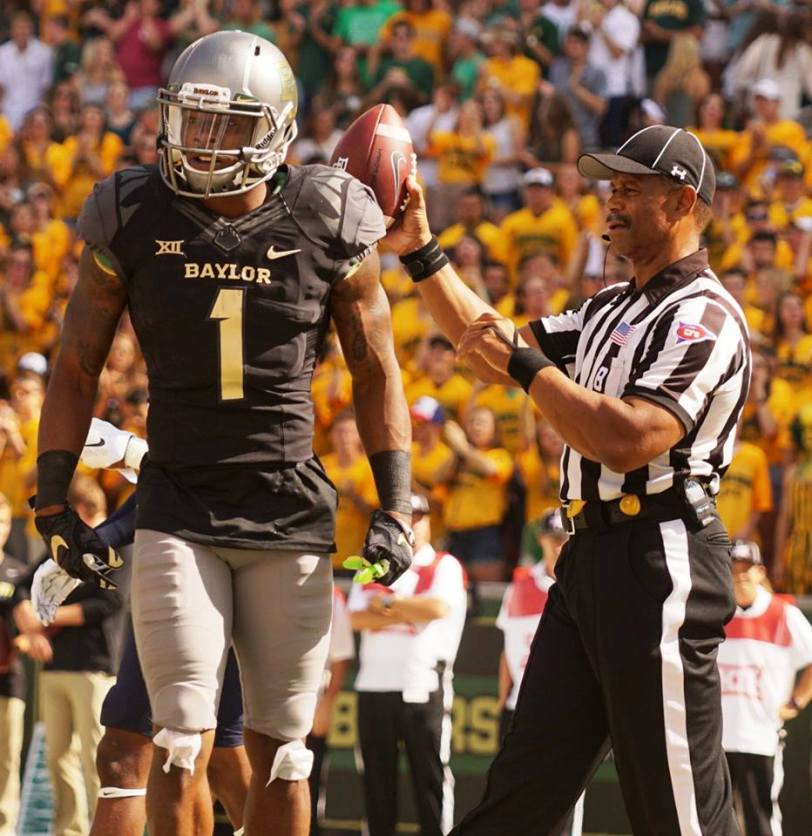 Baylor wide receiver Corey Coleman. (RoadTripSports photo by Chuck Cox)