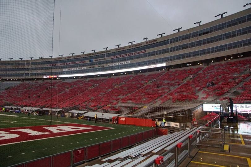 Camp Randall Stadium, the home of Wisconsin Football. (RoadTripSports photo by Chuck Cox)